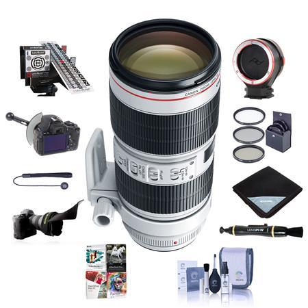 58mm High resolution Pro series Multi Coated HD 3 Pc EF 100mm f//2 USM Lens Digital Filter Set for Canon EF 75-300mm f//4-5.6 III USM Lens EF 28mm f//1.8 USM Lens and More Models EF 100mm f//2.8 Macro USM Lens eCost Microfiber Cloth