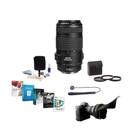 75a100a9e73f05 Canon EF 70-300mm f/4.5-5.6 IS USM Lens, USA with Free Accessory ...