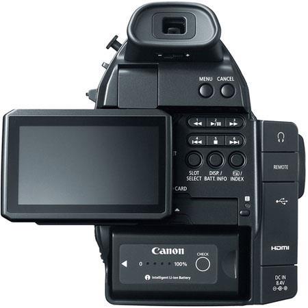 Canon c100 rear view