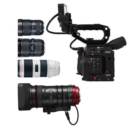 Canon EOS C200 Cinema Camera W/EF 16-35mm/24-70mm/EF 70-200mm/CN-E 18-80mm  Lens