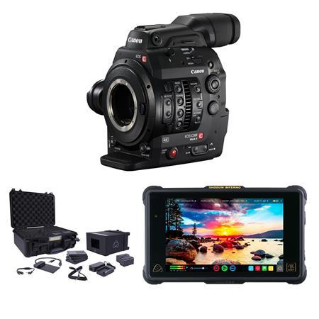 Canon EOS C300 Mark II ProRes RAW Atomos Kit, EF Mount