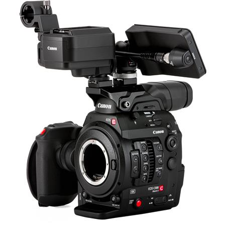 Canon EOS C300 Mark II Cinema EOS Camcorder Touch Focus Kit