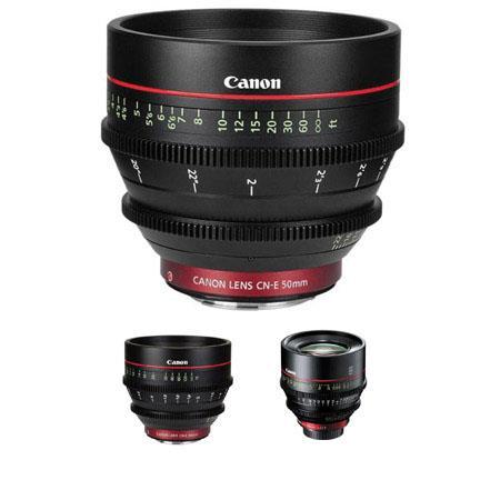 Canon Cine Lens Kit: Picture 1 regular