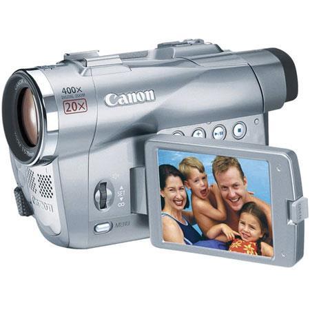 canon elura 90 pal 350i mini dv camcorder 1 33mp 20x optical rh adorama com Canon Elura 40 Transfer Cables Canon GL2