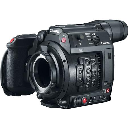 Canon EOS C200 8 85MP PL Mount 4K UHD Digital Cinema Camera Body with 4