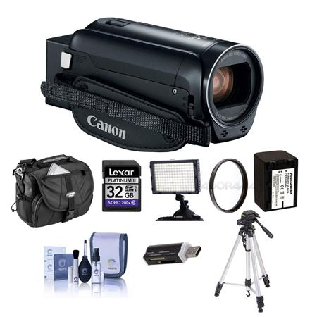f81d804adea Canon VIXIA HF R800 3.28MP Full HD Camcorder Black With Premium ...