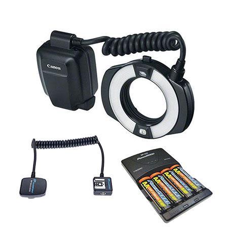 Canon MR-14EX II Macro Ring Lite Flash, Canon USA Warranty with Accessories