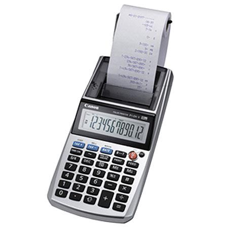 New Canon P1-DH V 12-Digit Palm Size Portable Printing Calculator P1-DHV