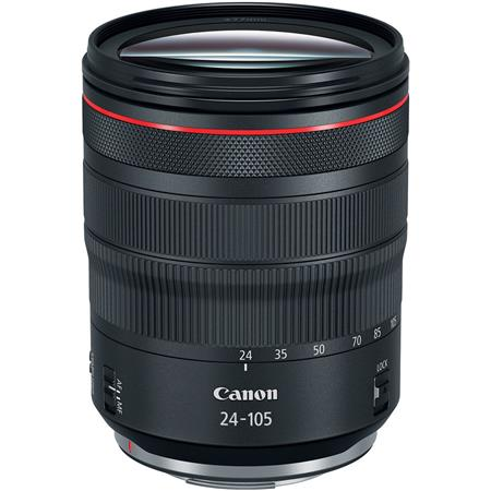 RF 24-105mm f/4 L IS USM Zoom Lens - U.S.A. Warranty