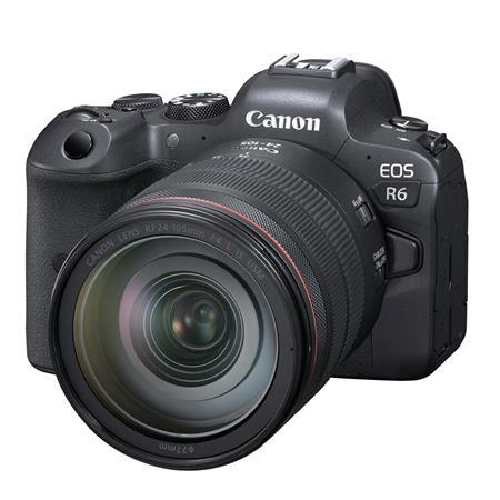 Canon EOS R6 Mirrorless Digital Camera with RF 24-105mm f/4 L IS USM Lens  4082C012