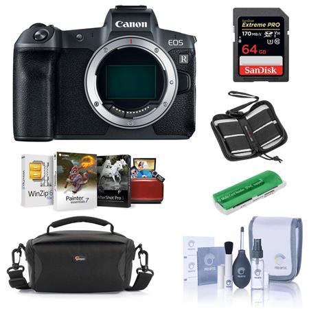 Canon Eos R Mirrorless Full Frame Digital Camera Body Black W Free Accessory Kit
