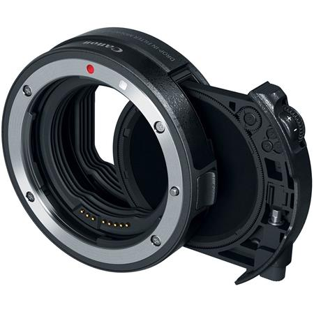 Canon EF-EOS R Drop-In Filter Lens Mount Adapter with Circular Polarizing  Filter