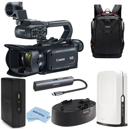 SlingStudio Battery Canon XA11 Compact Pro Camcorder with HDMI and Composite Output SlingStudio CameraLink SlingStudio Backpack SlingStudio USB-C Expander Cloth Bundle With With SlingStudio Hub