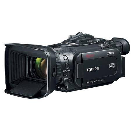 Canon XF-400 4K UHD High Definition Professional Camcorder with HDMI ...