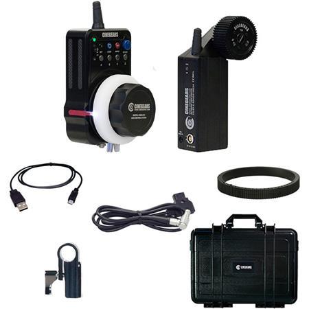 Cinegears Single-Axis Wireless Follow Focus Express Plus Basic Extreme Kit