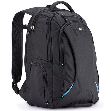 """Black Case Logic Ibira Backpack for 15.6/"""" Laptops and iPad or 10.1/"""" Tablet"""