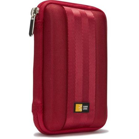 Case Logic Portable Hard Drive Case, Red QHDC-101-RED