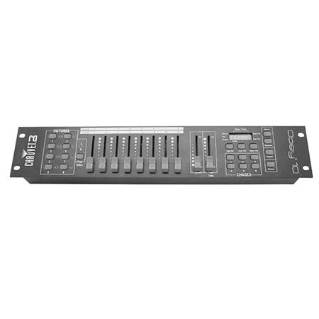 CHAUVET Obey 10 DMX Controller for Lighting Fixtures, 128 Channels, 3-pin  XLR Connector