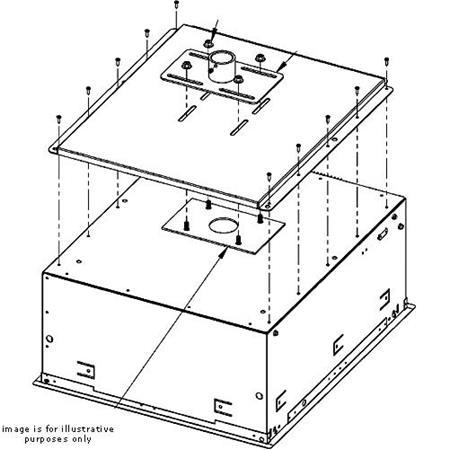 Chief Sma601 Smart Lift Mounting Plate Sma601