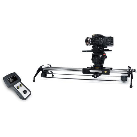 Cinevate Atlas 200 Moco Motion Control Add-On Kit, Includes Drive Motor &  Pulley, Carriage Attachment Kit, Reinforced Drive Belt, Controller, 12V
