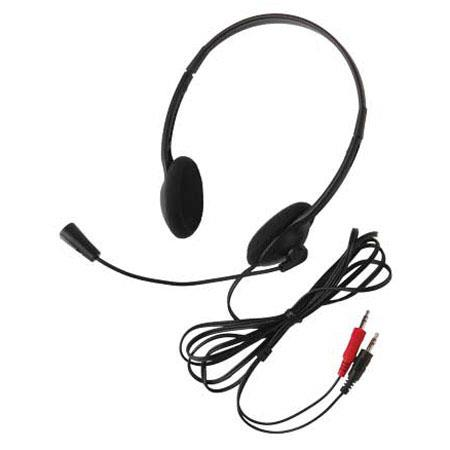 Califone 3065av Lightweight Multimedia Stereo Headset Dual 3 5mm