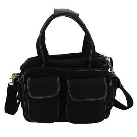 Cameleon Gettysburg Large Range Bag with Concealed Carry Compartment, Black  Vegan Leather