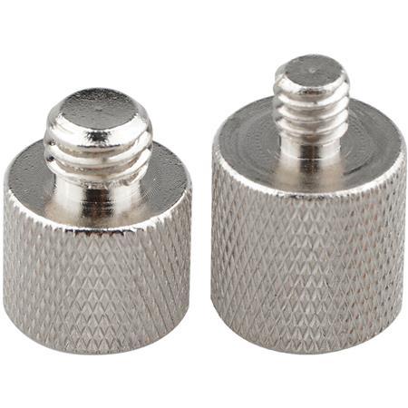 "3//8/"" Female to 1//4/""-20 Male Threaded Aluminum Tripod Screw Mount Adapter"