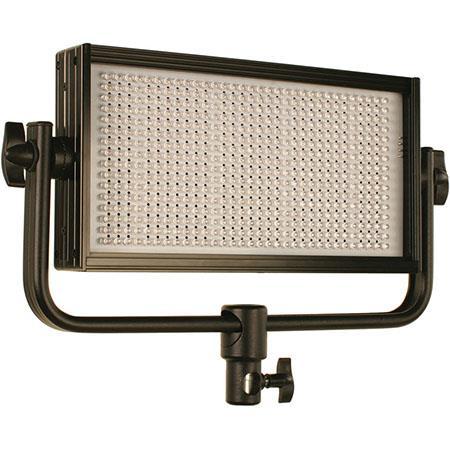 1024 LED Light Source 5600K Color Range 50000 Hours LED Life Cool-Lux CL1000 Daylight PRO Studio LED Spot Light with Gold Mount Battery Plate