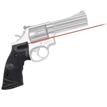 Crimson Trace Lasergrips Red Laser Sight for Smith & Wesson K and L Frame  Square Butt Revolvers