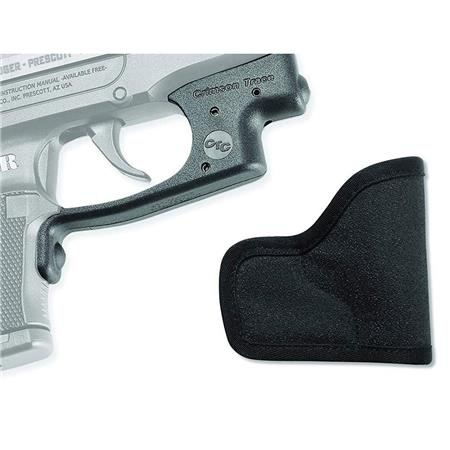Crimson Trace Laserguard Red Laser Sight for Ruger LCP, with Pocket  Holster, Does not fit LCP Gen II Pistols