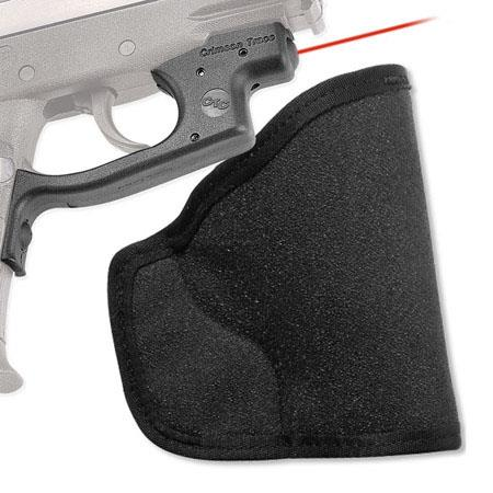 Crimson Trace LG-435H Polymer Laserguard with Red Laser and Pocket Holster  for Kel-Tec PF9 Pistols