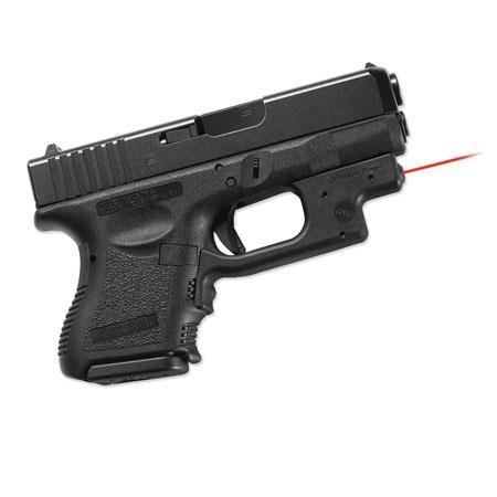 Crimson Trace Laserguard Red Laser Sight for Glock Gen 3 & Gen 4 Models 19,  23, 25, 26, 27, 28, 32, 33, 36, 38 & 39 Pistols, with Holster