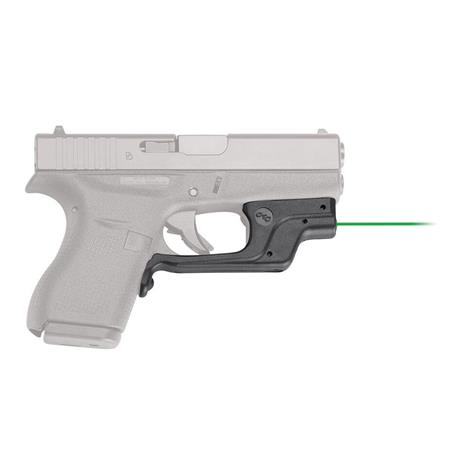 Crimson Trace LaserGuard Green Laser Sight for Glock 42  380 Pistol and  Glock 43 9mm Pistols