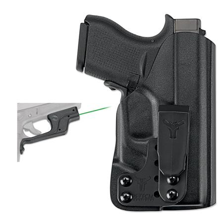 Crimson Trace Laserguard Green Laser F Glock 43 With Blade Tech