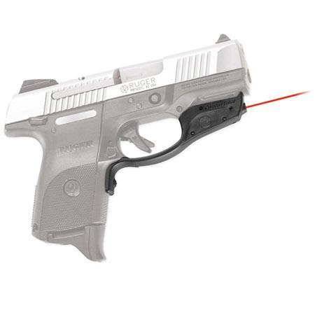 Crimson Trace LaserGuard Red Laser Sight for Ruger SR9c/SR40c, with Holster