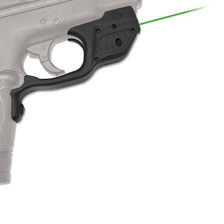 Crimson Trace LaserGuard Green Laser Sight for Smith & Wesson M&P Shield  Concealed Carry Pistol