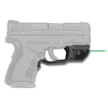 LG-469G Crimson Trace Green Laserguard for Springfield Armory XD-S 3.3 /& 4.0