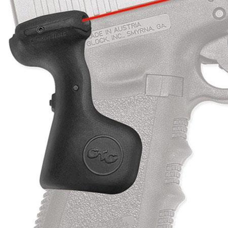 Crimson Trace LaserGrip Red Laser Sight for Glock Gen 3 Full-Size Glock 17,  17L, 22, 31, 34, 35, Rear Activation