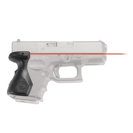 Crimson Trace LaserGrip Red Laser Sight for Glock Gen 4 Models 26, 27 & 33  Subcompact Pistols