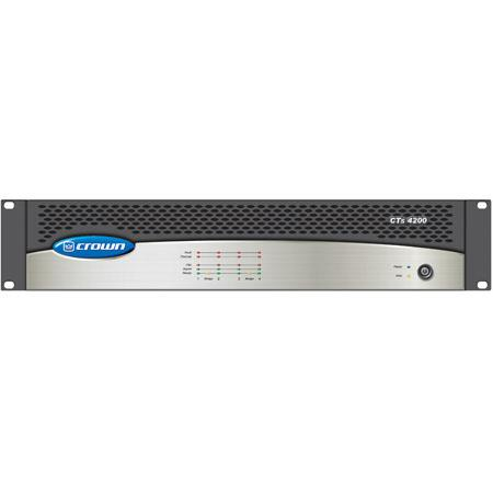 Crown Audio CTS-4200A 4-Channel Amplifier, 200 Wat CTS4200A