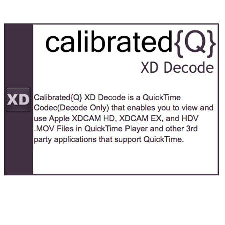 Calibrated Software Calibrated XD Decode: Picture 1 regular