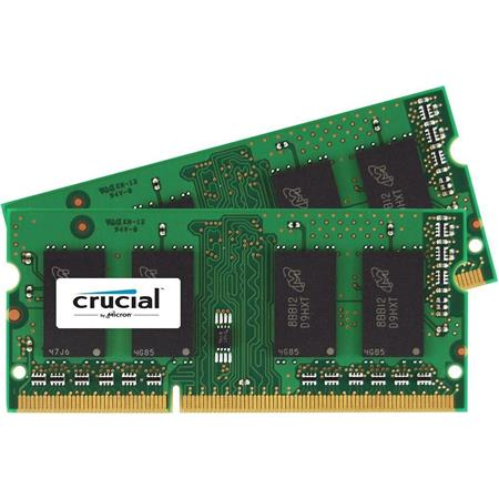 32GB Crucial 4X 8GB PC3 12800S DDR3 1600MHZ SODIMM Laptop Memory RAM 204PIN CL11