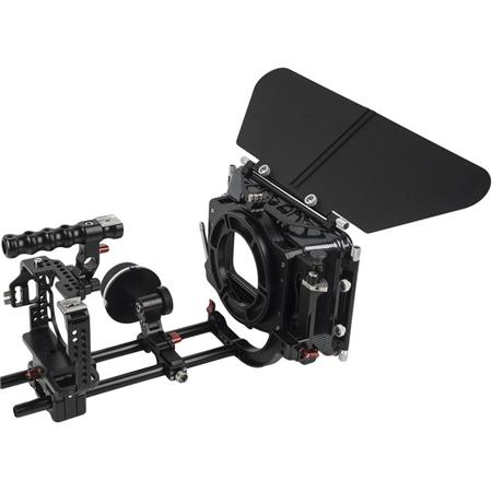 Came-TV Protective Cage Plus with Matte Box and Follow Focus for Sony a7S  II/a7R II Camera
