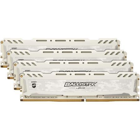 Ballistix Sport LT 32GB (4x 8GB) 288-Pin UDIMM DDR4 (PC4-24000) Gaming  Memory Module Kit, CL-15, Unregistered, 3000 MT/s Speed, Non-ECC, 1 35V,  Single