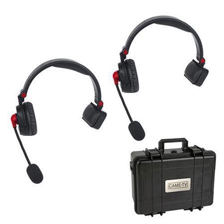 42c3a29f3e4 Came-TV WAERO Duplex Digital Wireless Foldable Headset with Hardcase ...
