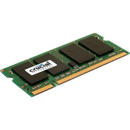 CRUCIAL BRAND 2GB DDR2 PC2-6400 LAPTOP MEMORY MODULE NEW