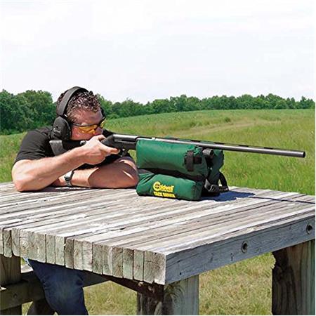 Caldwell Tackdriver Shooting Rest Bag For Any Or Shotgun Filled Green
