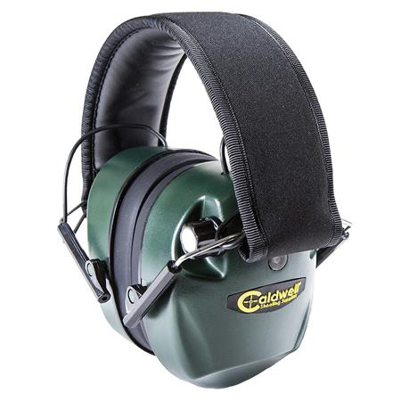 Caldwell E-Max Electronic Hearing Protection, 25 NRR, Green