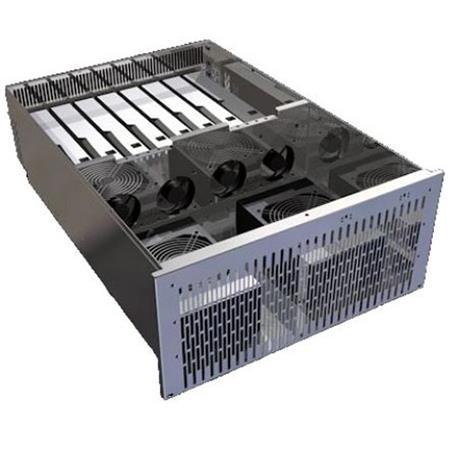 Cubix Xpander Rackmount 8, 4U Gen3 with 8 PCIe Gen3 x16 Expansion Slots