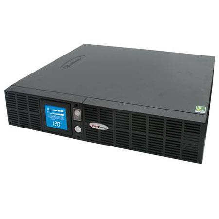 CyberPower OR1500PFCRT2U Smart App Intelligent LCD 1500VA UPS, 8 Outlets,  2U Rack Mount